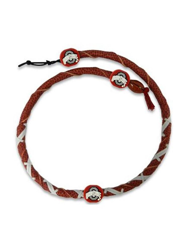 Ohio State Buckeyes Spiral Mens Necklace - Image 1