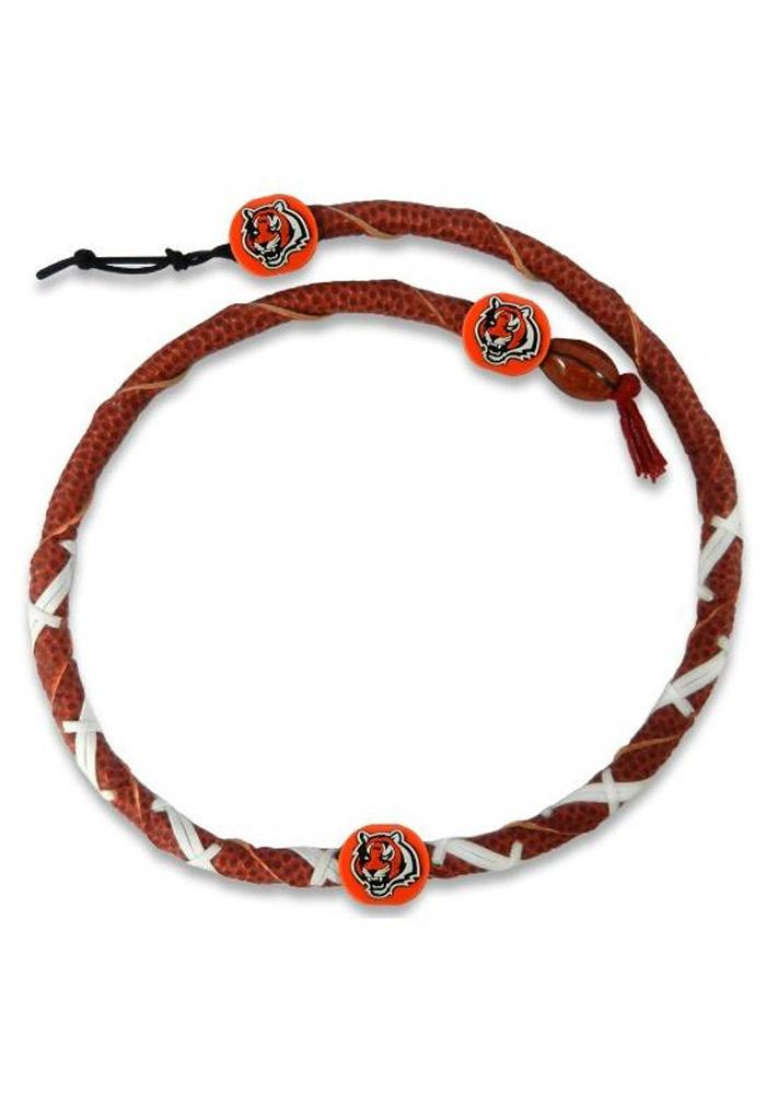 Cincinnati Bengals Spiral Necklace - Brown