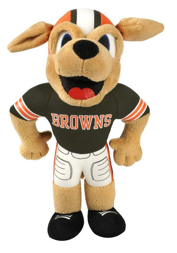 Cleveland Browns 8in Mascot Plush - Image 1