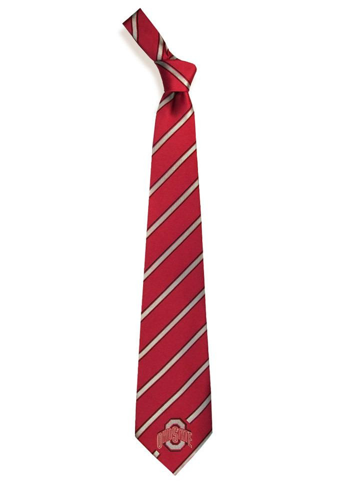 Ohio State Buckeyes Woven Poly 1 Mens Tie - Image 2