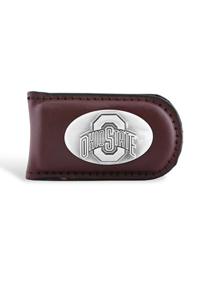 Ohio State Buckeyes Traditional Mens Money Clip - Image 1