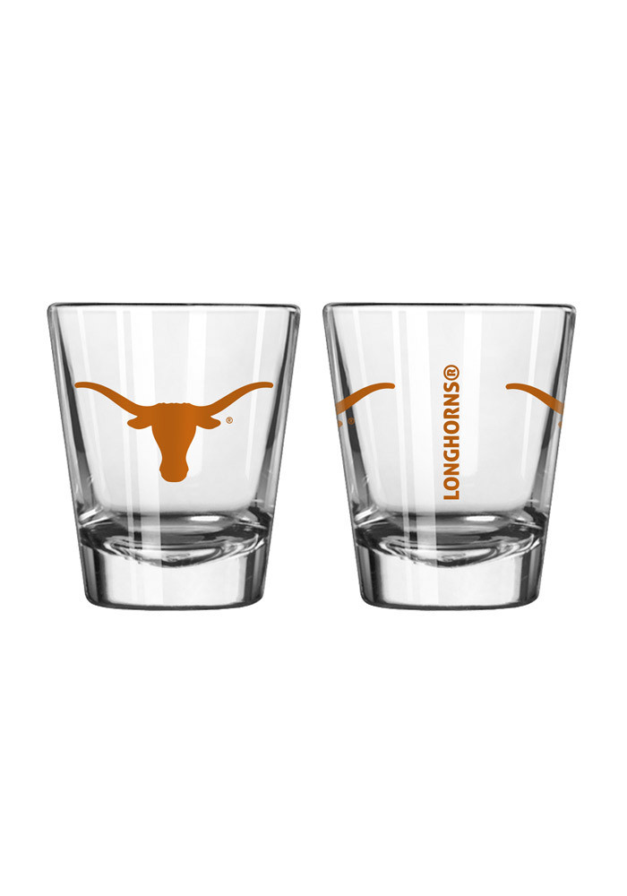 Texas Longhorns 2oz Clear Shot Glass - Image 1