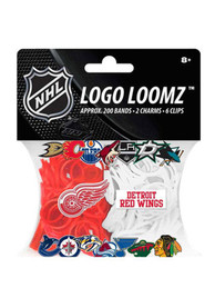 Detroit Red Wings Logo Loomz Toy Jewelry