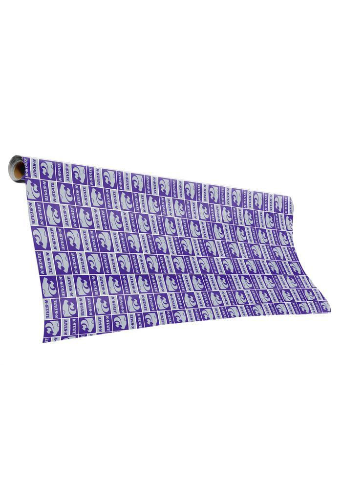 K-State Wildcats Tubed Wrapping Paper - Image 1