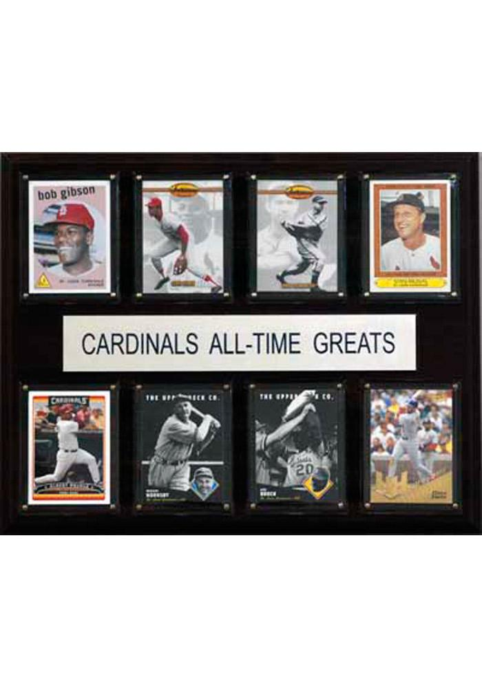 St Louis Cardinals 12x15 All-Time Greats Player Plaque - Image 1