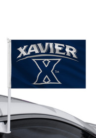 Xavier Musketeers 11x16 Car Flag - Blue