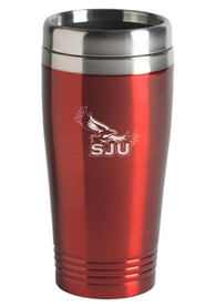 Saint Josephs Hawks 16oz Stainless Steel Travel Mug