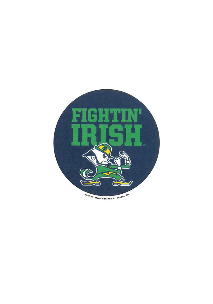 Notre Dame Fighting Irish 3 Inch Logo Button - Image 1