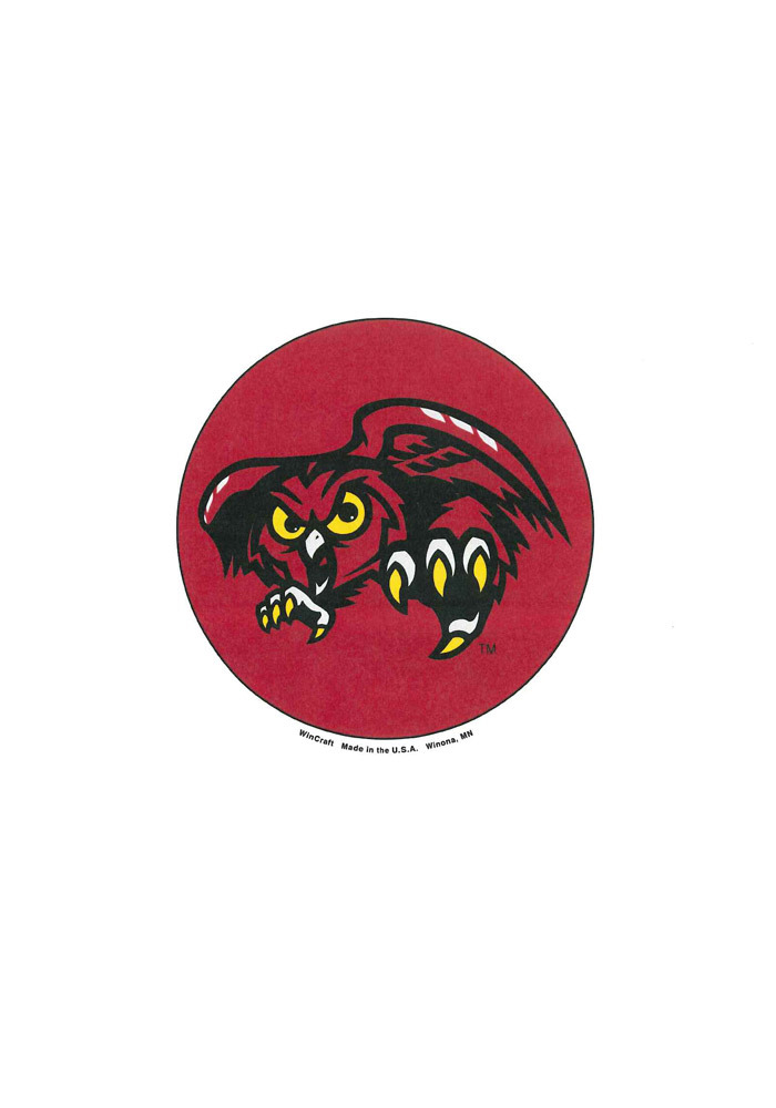 Temple Owls 3 Inch Logo Button - Image 1