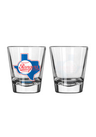 Texas Rangers 2oz Cooperstown Shot Glass