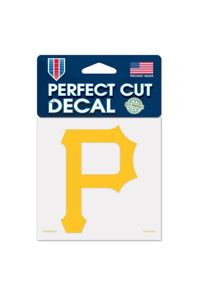 Pittsburgh Pirates 4x4 Perfect Cut Decal - Image 1
