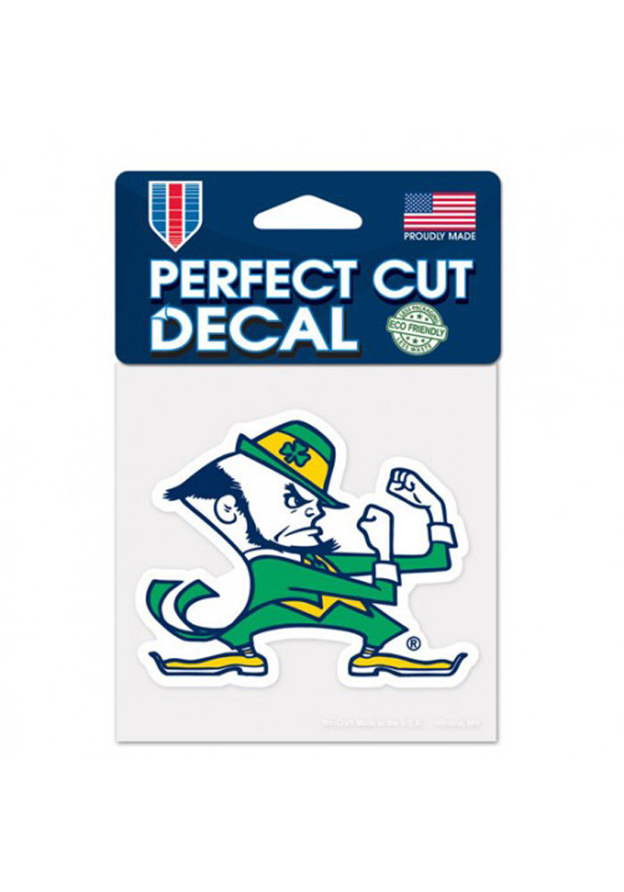 Notre Dame Fighting Irish 4x4 Perfect Cut Decal - Image 1