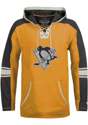 Pittsburgh Penguins Mens Black Cable Fashion Hood