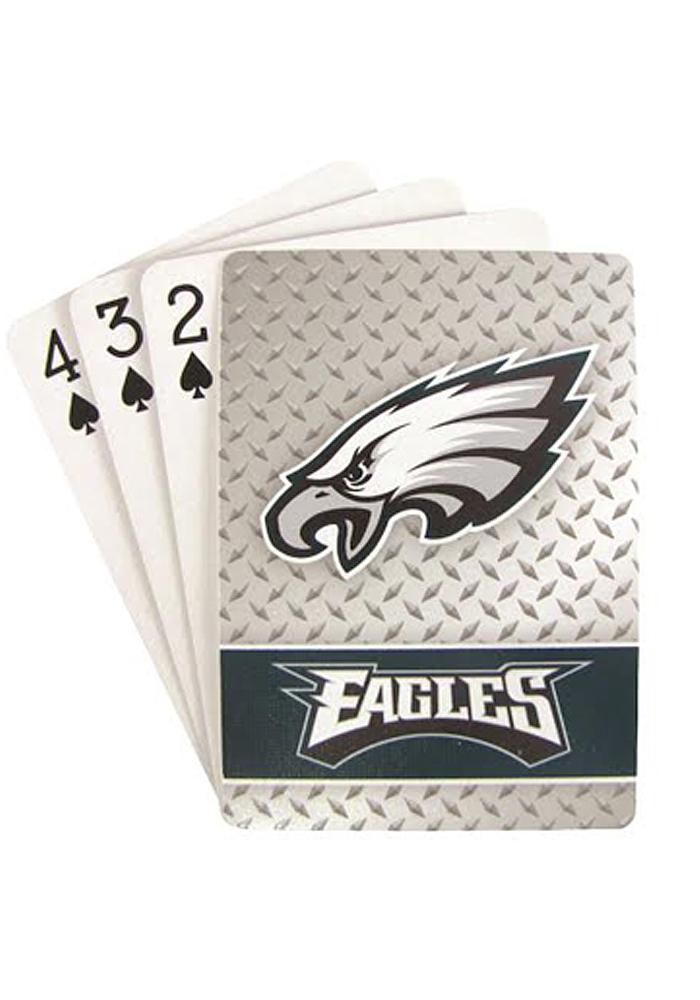 Philadelphia Eagles Standard Deck Playing Cards - Image 1