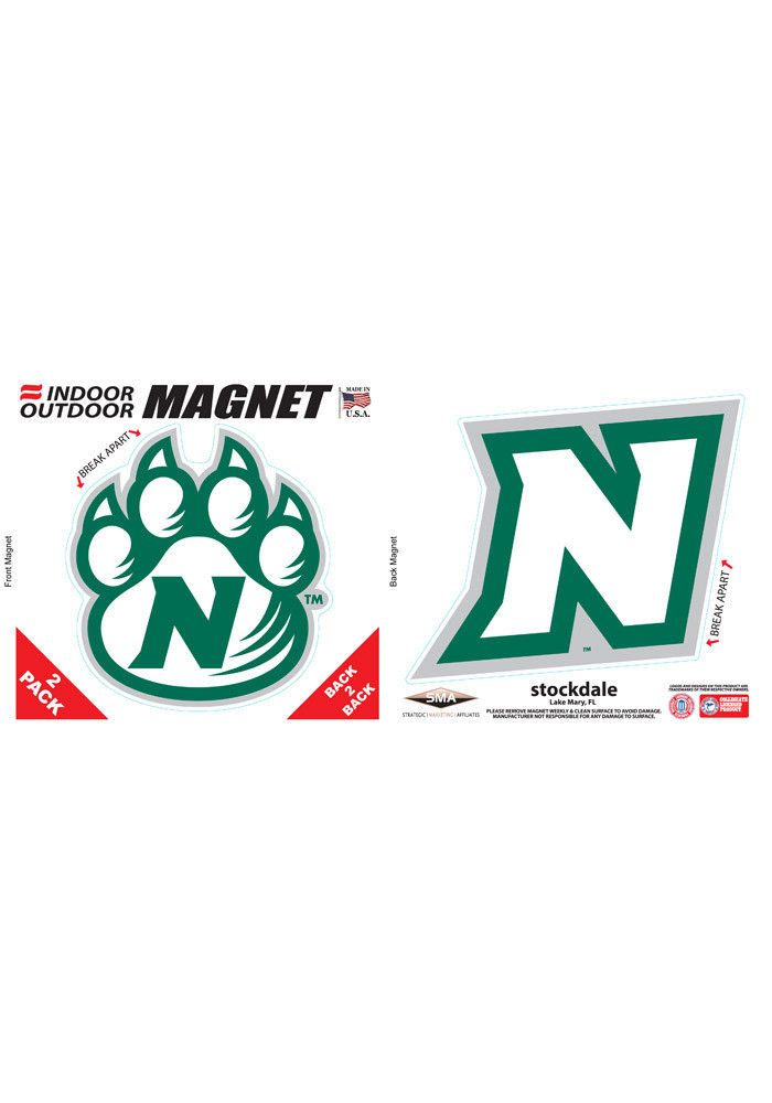 Northwest Missouri State Bearcats 6x6 2 Pack Car Accessory Car Magnet - Image 1