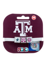 Texas A&M Aggies Kids Roxo Bracelet - White
