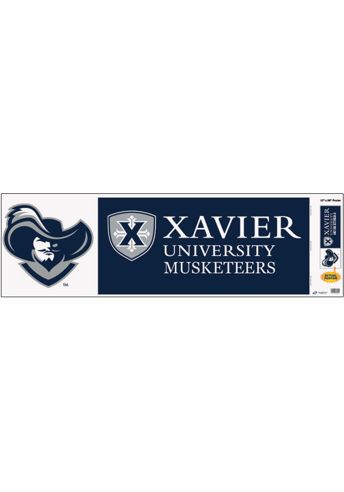 Xavier Musketeers Campus Collage Unframed Poster