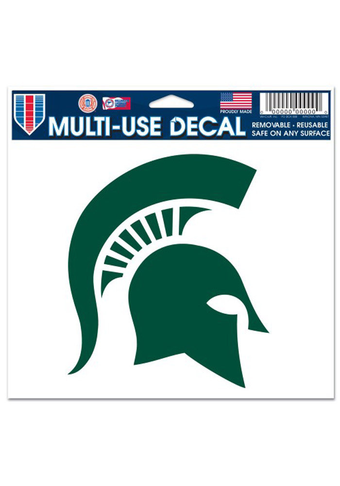 Michigan State Spartans 5x6 Multi Use Decal - Image 1