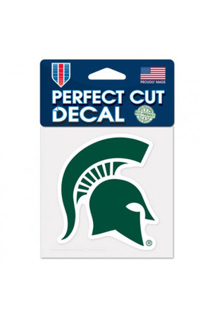 Michigan state spartans 4x4 perfect cut decal