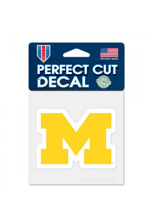 Michigan Wolverines 4x4 Perfect Cut Decal