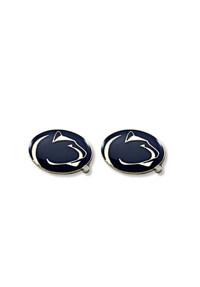 Penn State Nittany Lions Logo Post Womens Earrings - Image 1