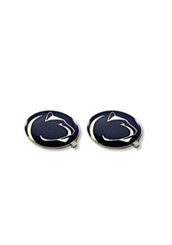 Penn State Nittany Lions Womens Logo Post Earrings - Navy Blue