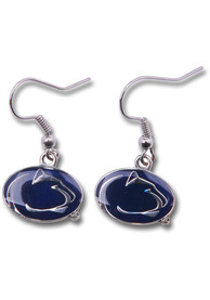 Penn State Nittany Lions Womens Logo Dangle Earrings - Silver