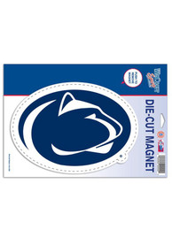 Penn State Nittany Lions Die Cut Logo Car Magnet - Navy Blue