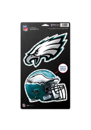 Philadelphia Eagles 2pk 5x9 Magnet
