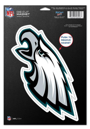Philadelphia Eagles Die Cut Logo Magnet
