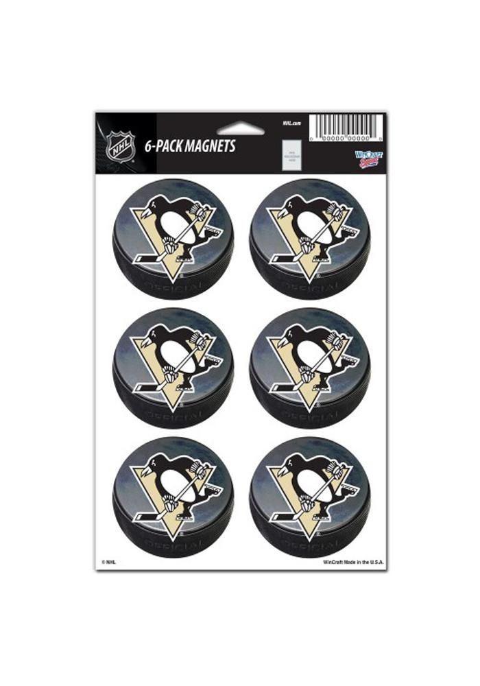 Pittsburgh Penguins 6 Pack Magnet - Image 1