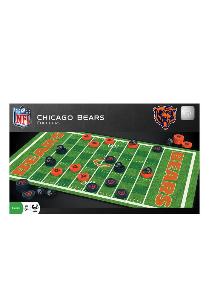 Chicago Bears Checkers Game - Image 1