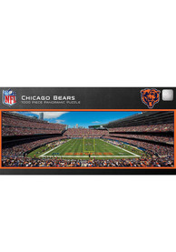 Chicago Bears 1000 Piece Pano Stadium Puzzle