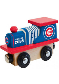 Chicago Cubs Wooden Train