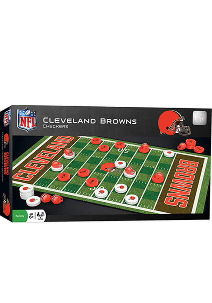 Cleveland Browns Checkers Game - Image 1
