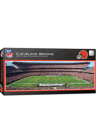 Cleveland Browns 1000 Piece Pano Stadium Puzzle