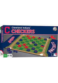 Cleveland Indians Checkers Game