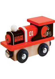 Cleveland Browns Wooden Train