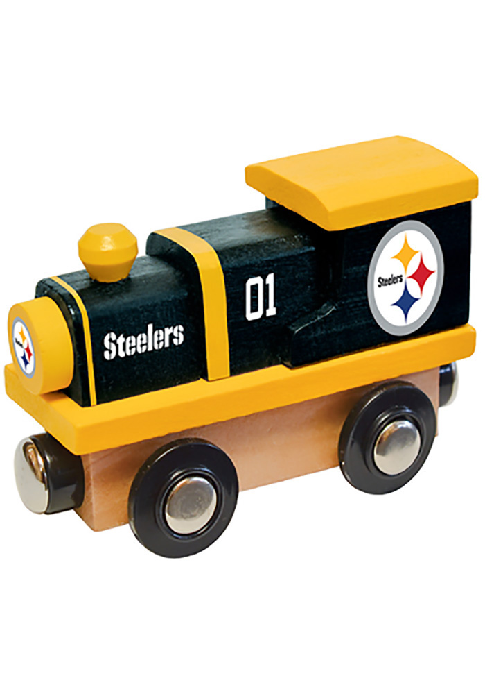 Pittsburgh Steelers Wooden Train - Image 1