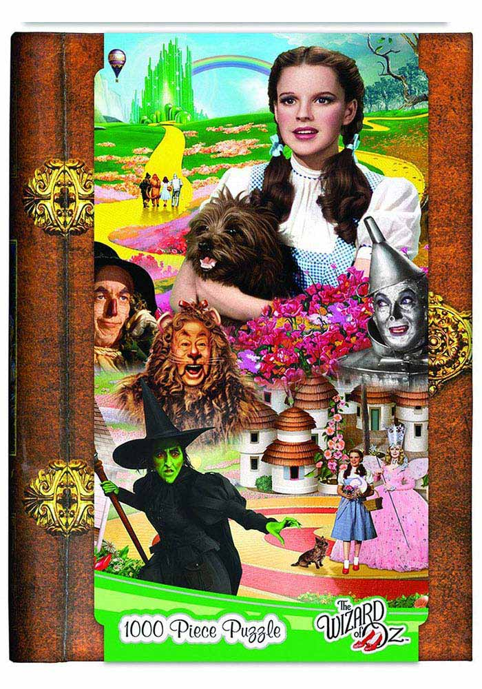 Wizard of Oz 1000 Piece Book Box Puzzle - Image 1