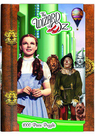 Wizard of Oz 1000 Piece Emerald City Book Box Puzzle