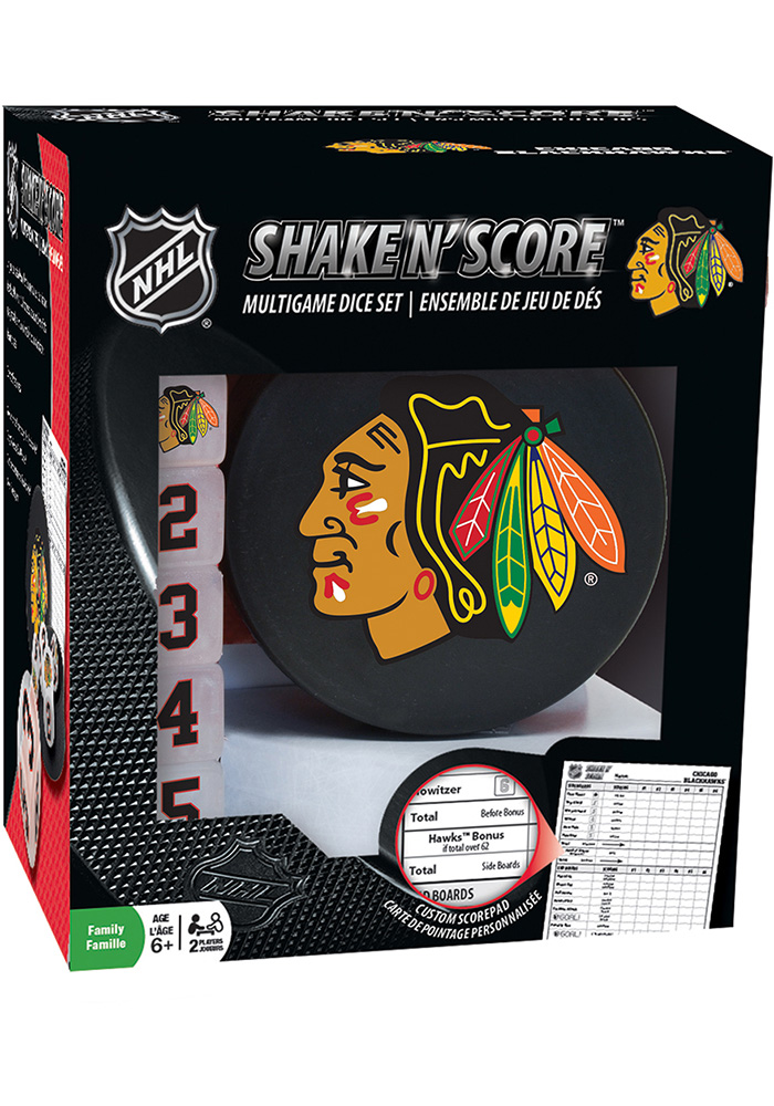Chicago Blackhawks Shake N' Score Game - Image 1