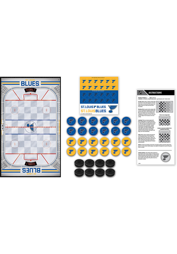 St Louis Blues Checkers Game - Image 2
