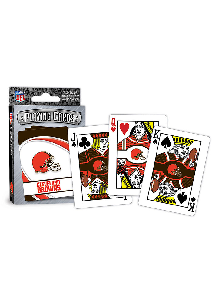 Cleveland Browns Team Playing Cards - Image 1