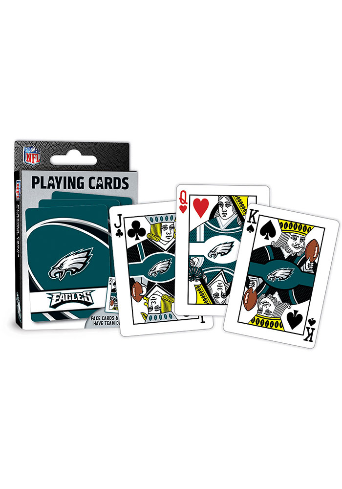 Philadelphia Eagles Team Playing Cards - Image 1