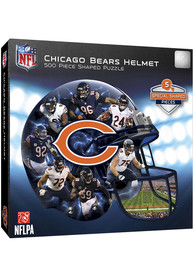 Chicago Bears 500 Piece Helmet Puzzle