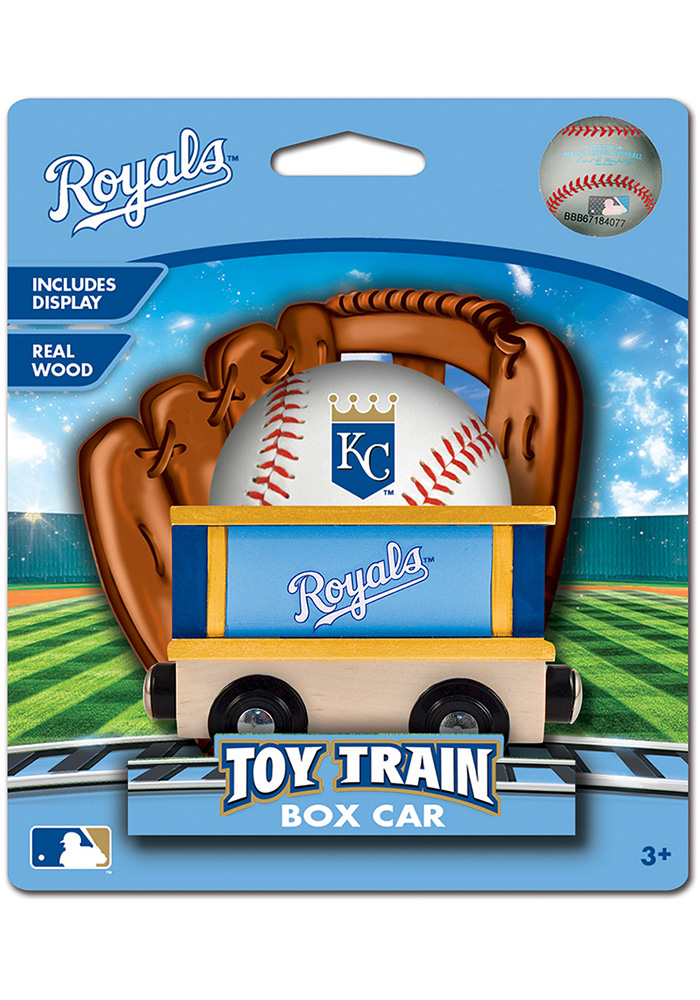 Kansas City Royals Wooden Train - Image 1