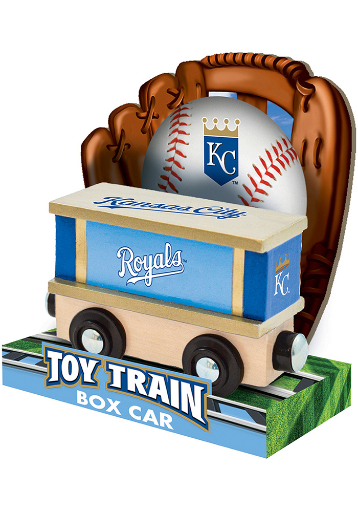 Kansas City Royals Wooden Train - Image 4
