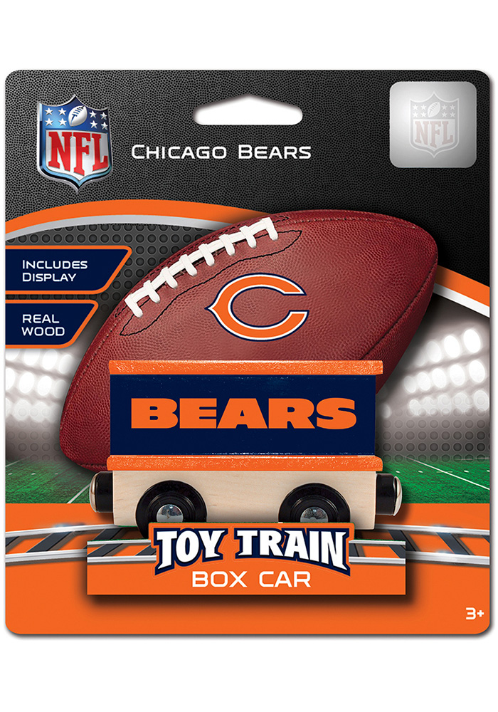 Chicago Bears Wooden Train - Image 1
