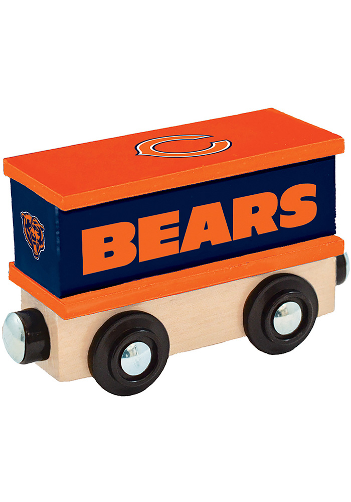 Chicago Bears Wooden Train - Image 2